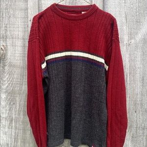 Vintage grandpa Knit Sweater